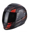 EXO 510 Galva matt black neon red