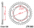 Zadná rozeta JTR865-44